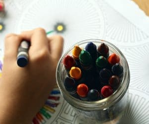 Canva Child Learning How to Color 300x250