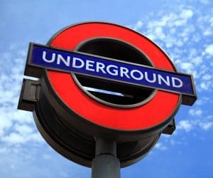 Canva Underground Sign in England 300x250