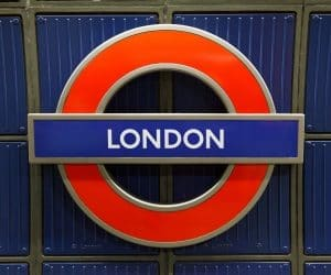 Canva Underground Sign in London 300x250